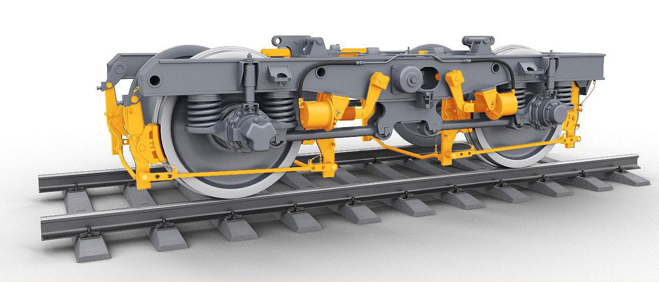 brake 12 Электронный учебный комплекс «Устройство и эксплуатация тормозного оборудования электровозов нового поколения 2ЭС10, 2ЭС7»
