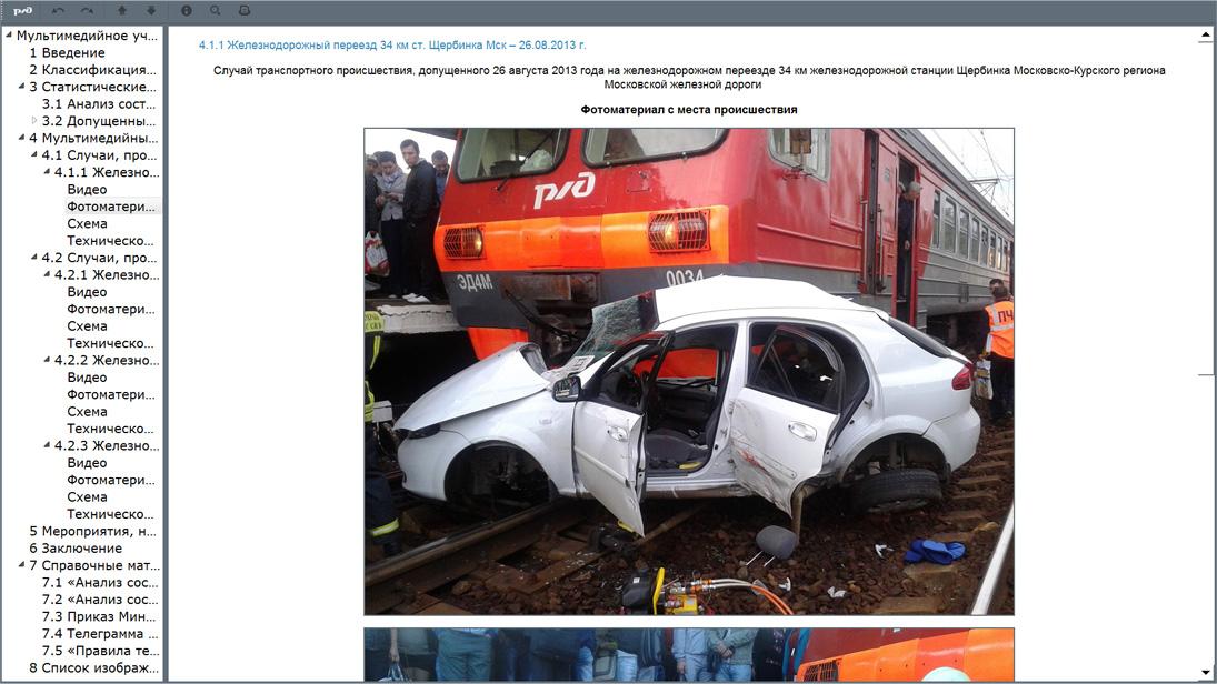 cross 13 Мультимедийное учебное пособие «Безопасность движения поездов на железнодорожных переездах»