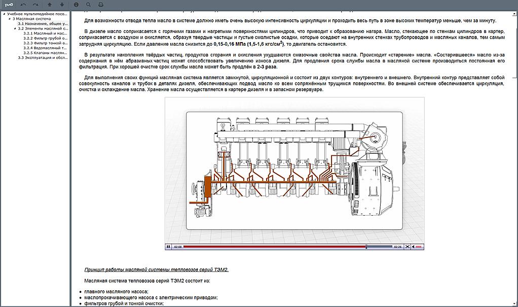 systems 01 Мультимедийный учебный комплекс «Устройство и принцип работы тепловозных дизелей»
