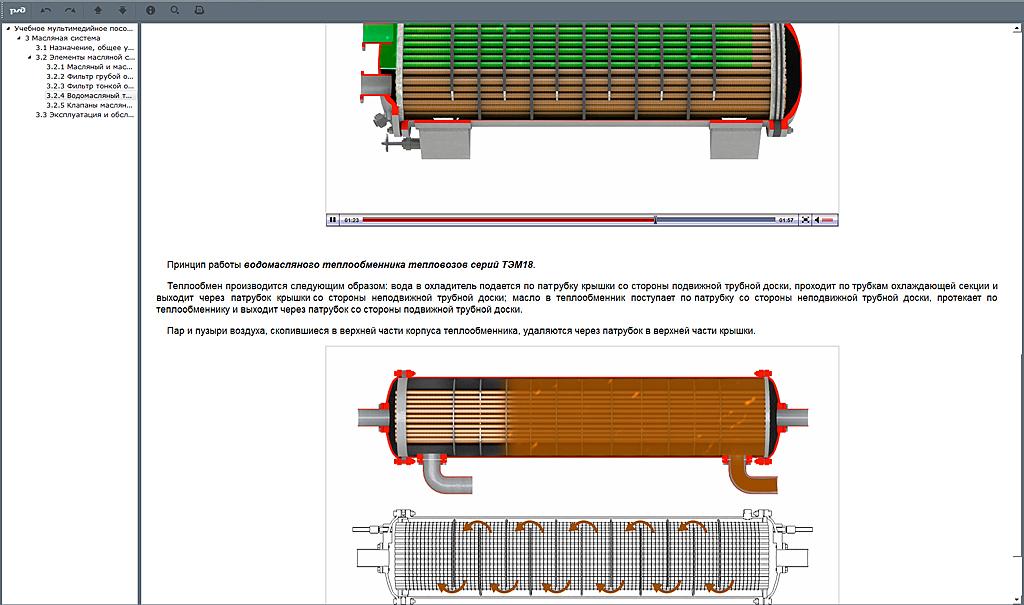 systems 04 Мультимедийный учебный комплекс «Топливная, масляная, водяная системы тепловозов серии ТЭМ»