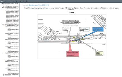 th safety 08 Мультимедийное учебное пособие «Безопасность движения поездов: причины, обстоятельства и последствия нарушений»