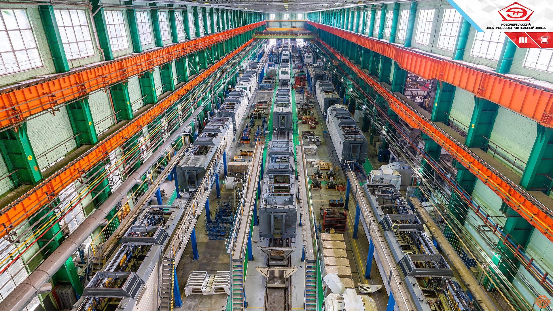 nevz title 02a 1920x1080 Виртуальная экскурсия по Новочеркасскому электровозостроительному заводу
